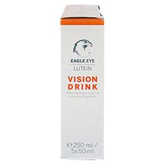 EAGLE EYE Lutein Vision Drink 5x50 Milliliter - Rechte Seite