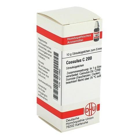 COCCULUS C 200 Globuli 10 Gramm N1