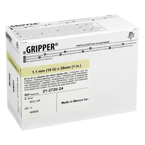 GRIPPER Punktionsnadeln TOTM 19 Gx25,4 mm 12 Stück