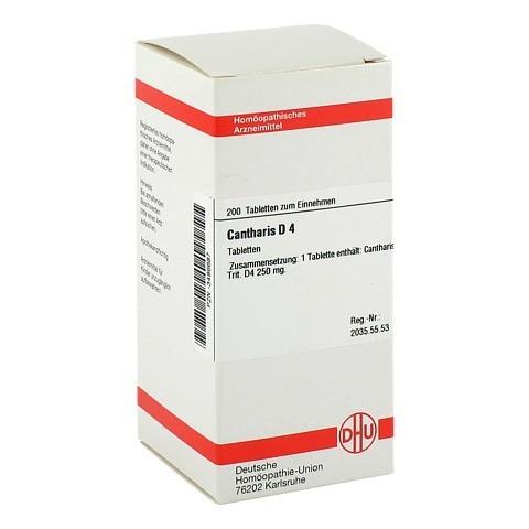 CANTHARIS D 4 Tabletten 200 St�ck N2