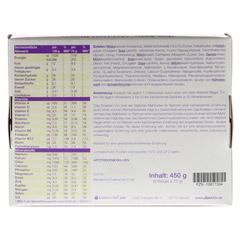 XLIM Aktiv Mahlzeit Riegel Vanille 6x75 Gramm - Rückseite