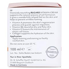 RUGARD Vitamin Creme Gesichtspflege 100 Milliliter - Linke Seite