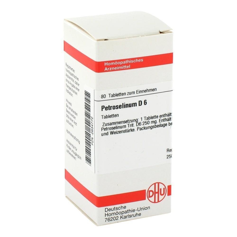 PETROSELINUM D 6 Tabletten 80 Stück