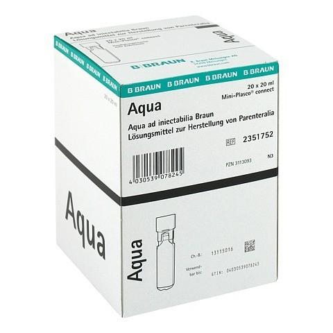 AQUA AD INJECTABILIA Miniplasco connect Inj.-Lsg. 20x20 Milliliter N3