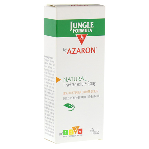 JUNGLE Formula by AZARON NATURAL Spray 75 Milliliter