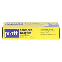 Proff Schmerzdragees 200mg 20 St�ck - Oberseite
