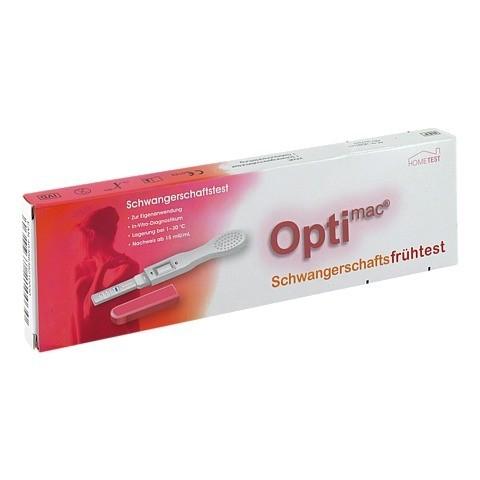 OPTIMAC Schwangerschafts Frühtest 1 Stück