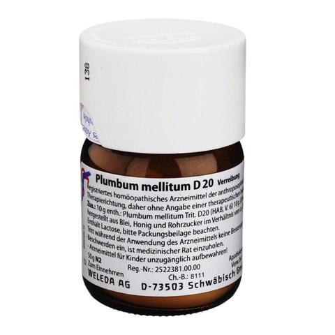 PLUMBUM MELLITUM D 20 Trituration 50 Gramm N2