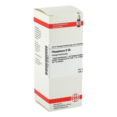 PHOSPHORUS D 30 Dilution 50 Milliliter