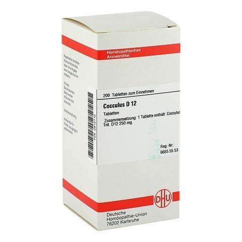 COCCULUS D 12 Tabletten 200 Stück N2