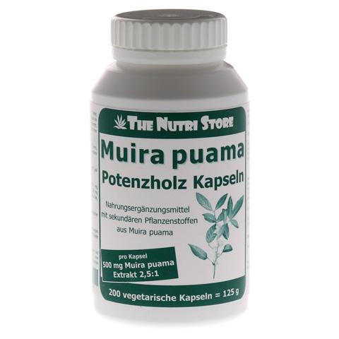 MUIRA PUAMA 500 mg Extrakt Kapseln 200 St�ck