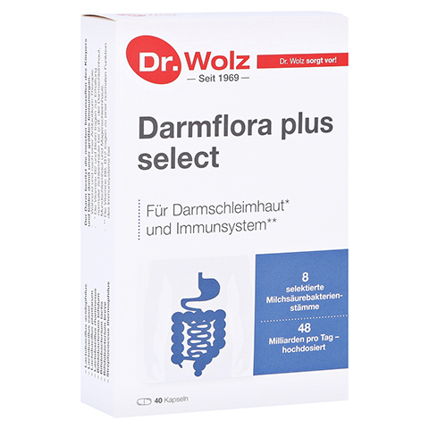 DARMFLORA plus select Kapseln 40 St�ck