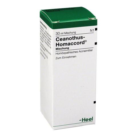 CEANOTHUS-HOMACCORD Liquidum 30 Milliliter N1