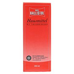 NEO BALLISTOL Hausmittel flüssig 250 Milliliter - Rückseite