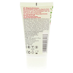 LOGONA pflegende Handcreme Granatapfel & Q10 50 Milliliter - Rückseite