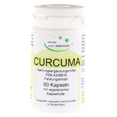 CURCUMA Vegi Kapseln 60 St�ck
