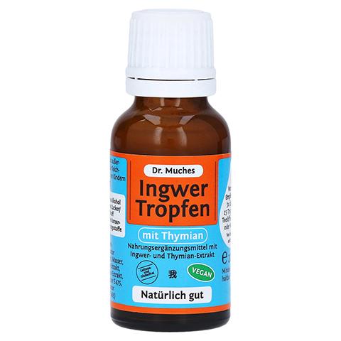 INGWERTROPFEN m.Thymian Dr.Muches 20 Milliliter