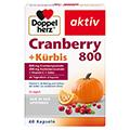 DOPPELHERZ Cranberry+Kürbis Kapseln 60 Stück