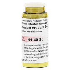 ANTIMONIUM CRUDUM D 6 Tabletten 40 St�ck N1 - Rechte Seite
