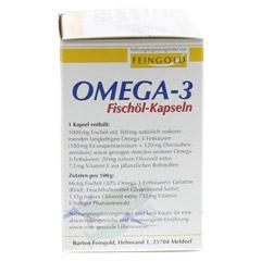 OMEGA 3 Fischöl Kapseln 100 Stück - Linke Seite