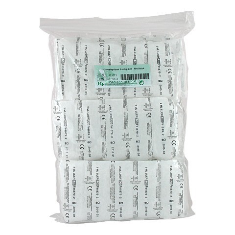 EINMALSPRITZE Ersta 2 ml 3teilig 100 Stück