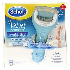 SCHOLL Velvet smooth Pedi wet & dry 1 Stück - Vorderseite