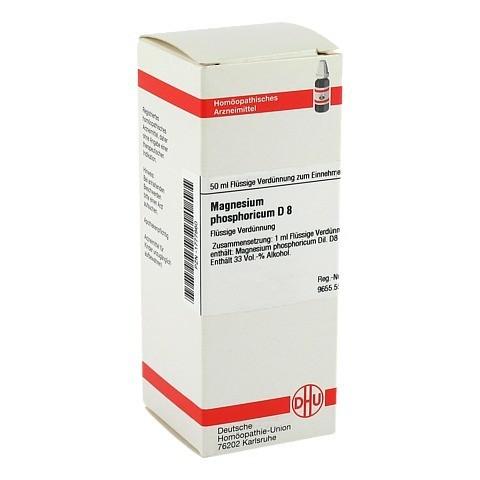 MAGNESIUM PHOSPHORICUM D 8 Dilution 50 Milliliter N1