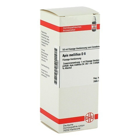 APIS MELLIFICA D 6 Dilution 50 Milliliter N1