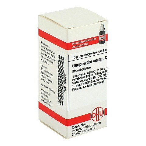 GUNPOWDER comp.C 30 Globuli 10 Gramm N1