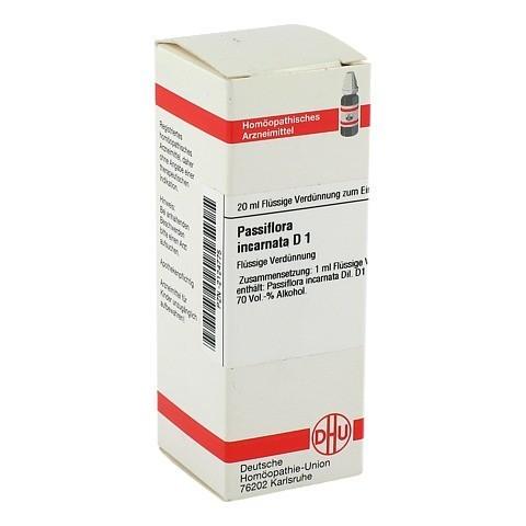 PASSIFLORA INCARNATA D 1 Dilution 20 Milliliter N1