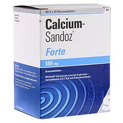 CALCIUM SANDOZ forte Brausetabletten 5x20 St�ck N3