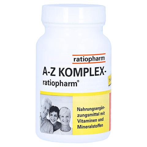A-Z KOMPLEX ratiopharm Tabletten 100 Stück