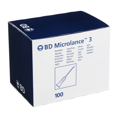 BD MICROLANCE Kanüle 26 G 1/2 Insul.0,45x13 mm 100 Stück