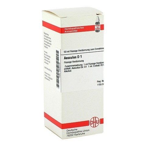 AESCULUS D 1 Dilution 50 Milliliter N1