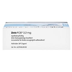 Zink-POS 3,2mg 100 Stück N3 - Oberseite
