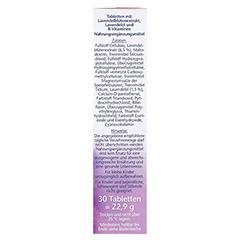 DOPPELHERZ Lavendel Extrakt+Öl Tabletten 30 Stück - Rechte Seite