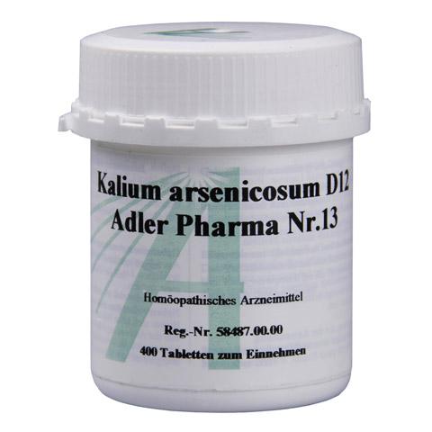 BIOCHEMIE Adler 13 Kalium arsenicosum D 12 Tabl. 400 Stück