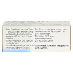 Ambroxol acis 60mg 10 St�ck - Oberseite