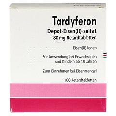 Tardyferon Depot-Eisen(II)-sulfat 80mg 100 St�ck N3 - Vorderseite