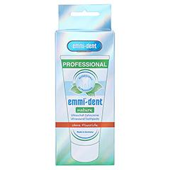 EMMI-dent Zahncreme nature 75 Milliliter - Vorderseite