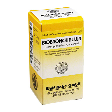BIOBRONCHIAL WR Tabletten 50 Stück N1