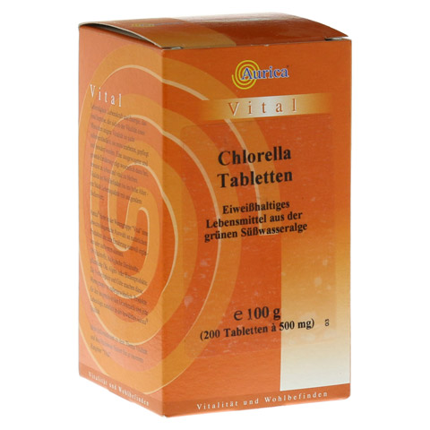 CHLORELLA TABLETTEN 500 mg 200 Stück