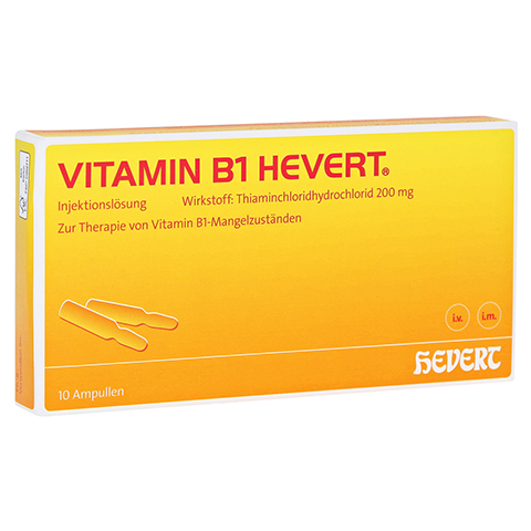 VITAMIN B1 Hevert Ampullen 10 Stück N2