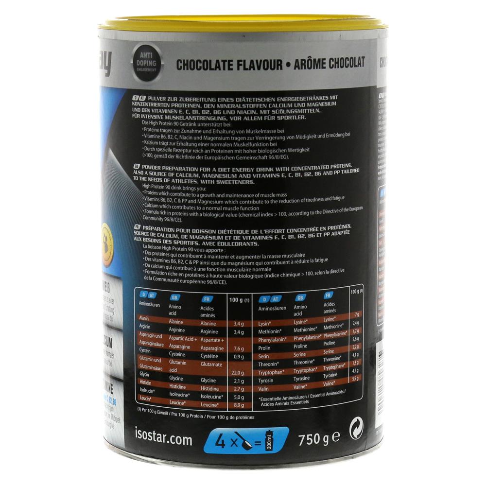 isostar powerplay high protein 90 schoko pulver 750 gramm. Black Bedroom Furniture Sets. Home Design Ideas