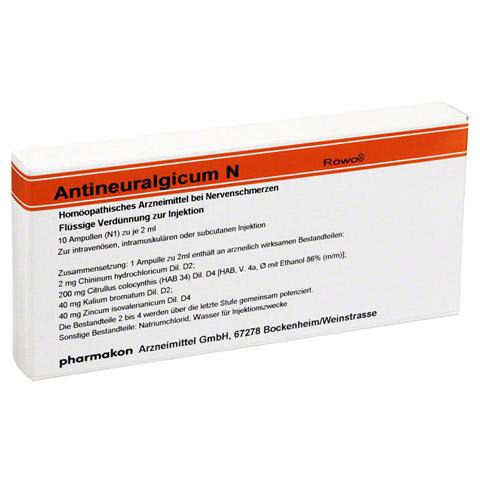 ANTINEURALGICUM N Ampullen 10 St�ck N1