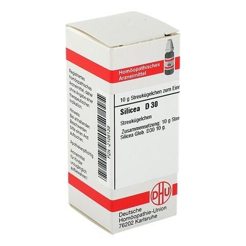 SILICEA D 30 Globuli 10 Gramm N1