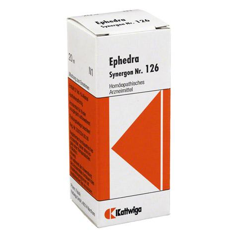 SYNERGON KOMPLEX 126 Ephedra Tropfen 20 Milliliter
