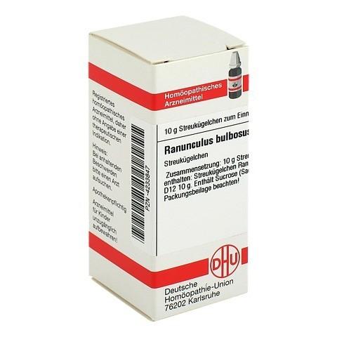 RANUNCULUS BULBOSUS D 12 Globuli 10 Gramm N1