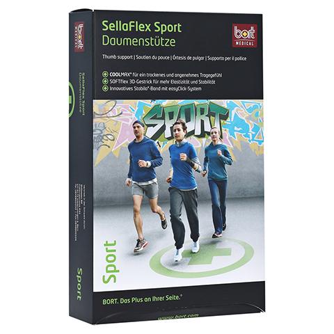 BORT SellaFlex Daumenstütze Sport M schwarz-grün 1 Stück