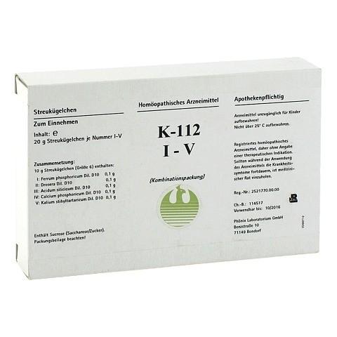 K 112 I-V Globuli 5x20 Gramm N1